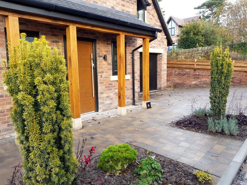 Landscaping contractor, Chester and North Wales